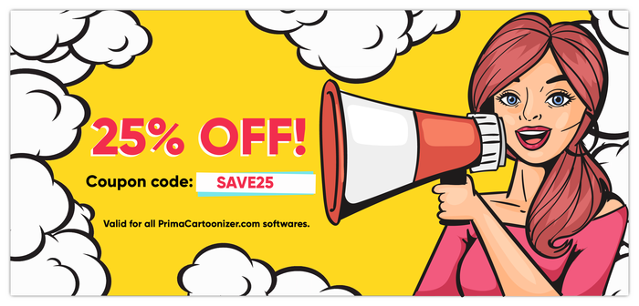 Prima Cartoonizer Coupon Code Discount For February