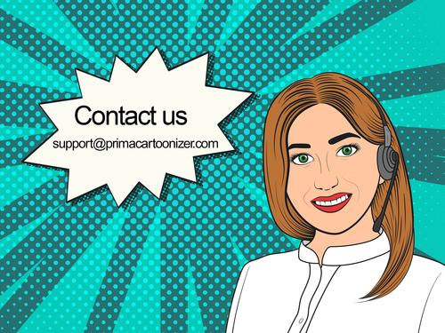 Contact Prima Cartoonizer Support