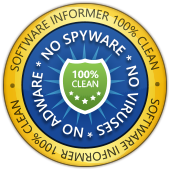 100% clean badge by Software Informer